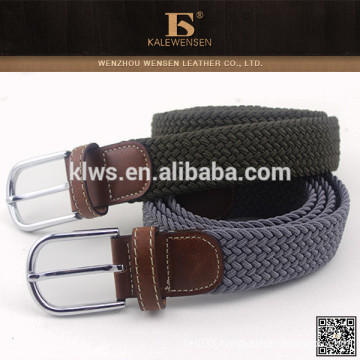 2014 Fashion styling cheap selling top knit high quality braided narrow belt