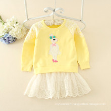 robes à capuche polaire filles jupes pas cher prix vêtements pour l'automne articles en vente pour les enfants