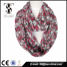 2015 new design lady knitted space dye scarf