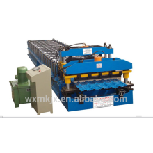 Rollo de azulejo esmaltado que forma la máquina