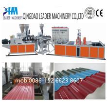 Máquina de extrusión de placas de PVC para techos acanalados de resistencia UV
