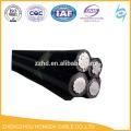 Condutores ABC, Alumínio com cabo de isolamento XLPE 3CX 95sqmm + 1CX50sqmm