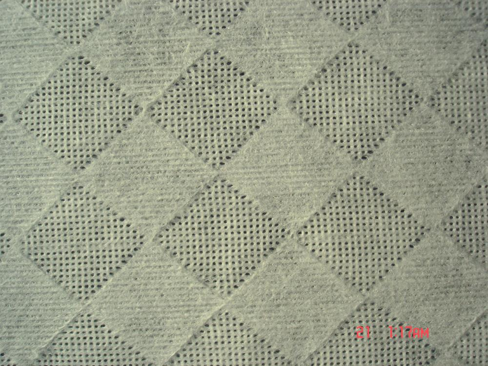 Diamond Embossed Spunlace Nonwoven Fabric