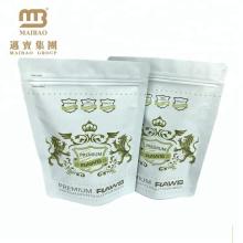 Guangzhou-Fabrik lamelliertes Material kundengebundener Logo-Druck-Aluminiumfolie Ziploc-Lebensmittel-Taschen-Verpackung für Verkauf