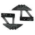 Adjustable black hardware furniture