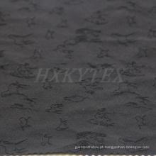 Jacquard animal com tecido de nylon de 4 vias Spandex para jaqueta casual