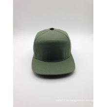 Custom100% Segeltuch-einfache Art- und Weisequalitäts-Großhandelskappe (ACEK0111)