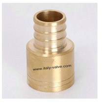 Brass Pex Sweat Adapter (PEX-006)