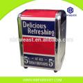 Boîte de papier de soie imprimée sur mesure en métal bon marché