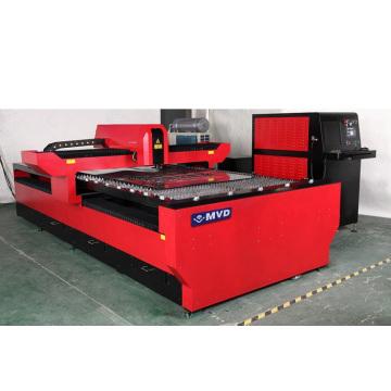 2014 venda quente ND YAG 650 Watt 800 Watt aço inoxidável / alumínio / aço macio cortador de metal de corte de metal Preço 3000 * 1500mm