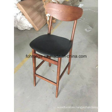 Antique Sushi Restaurant Wood High Stools (FOH-BCC40-H)