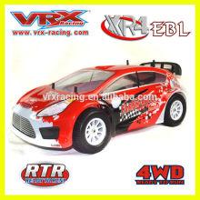1/10 4WD rc nitro powered car Rally 01:10 carro modelo rc