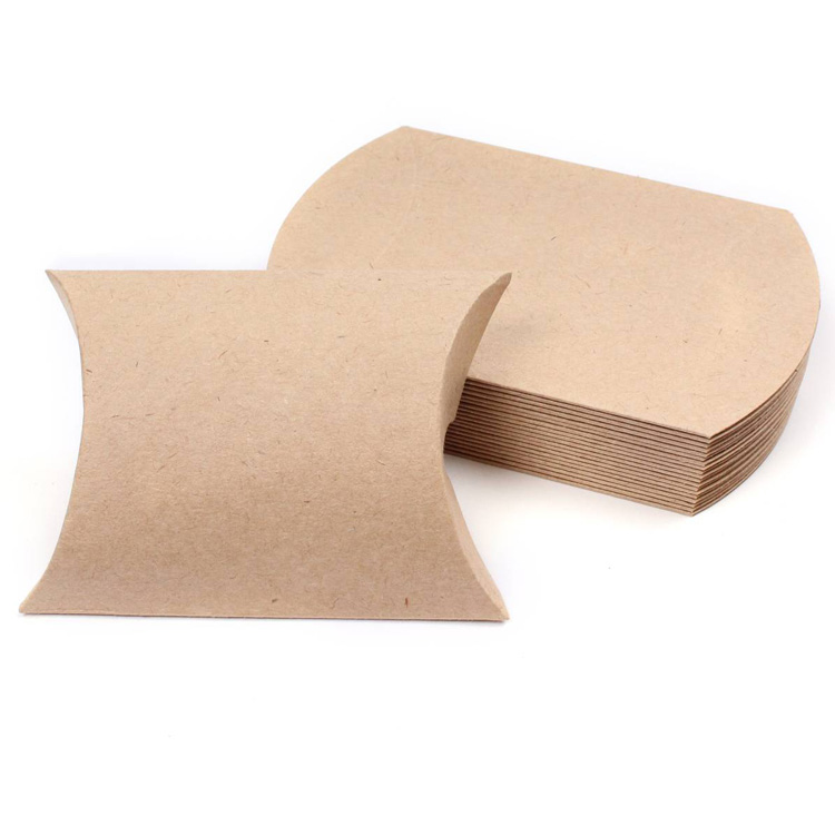 Kraft Paper Pillow Packaging Box