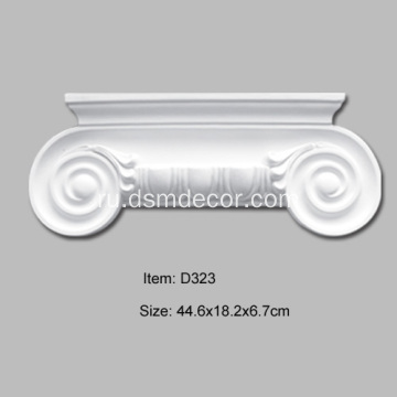 Пенопласт Ionic Column Pilaster Capital