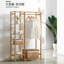 Бамбуковая вешалка для одежды и головных уборов