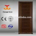 Veneered laminated flush wood apartment door