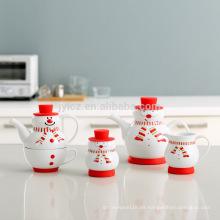 Regalo de Navidad popular olla taza de té en uno