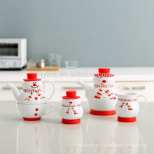 Pot de tasse de thé populaire de cadeau de Noël dans un