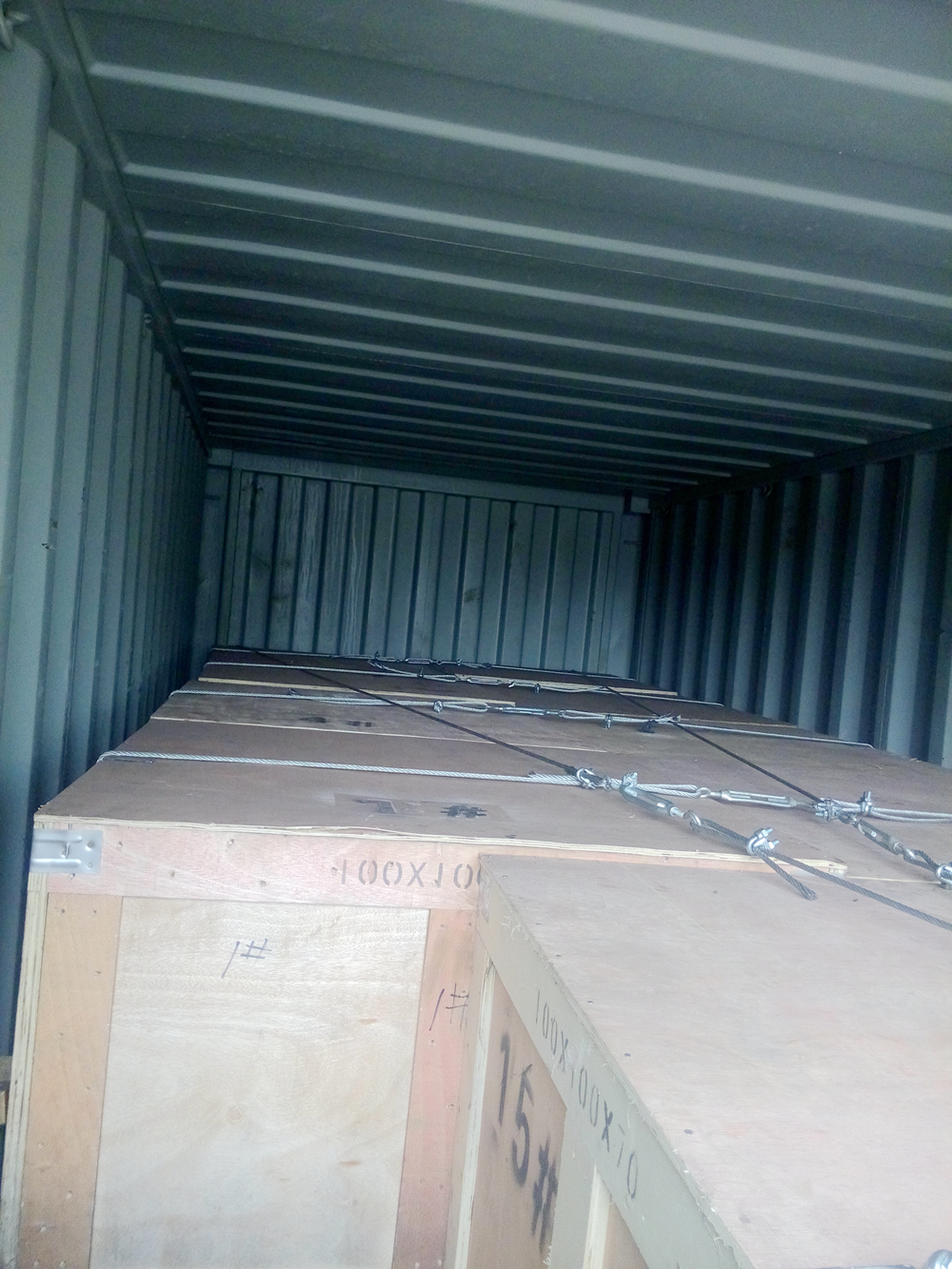 Rubber Products Loading Container