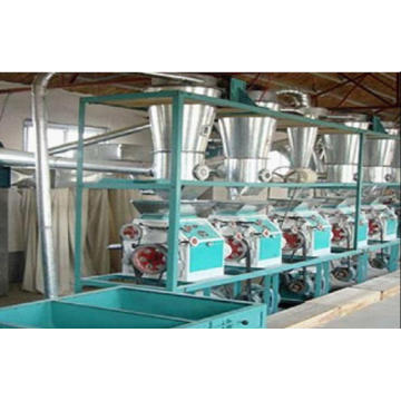 Equipo de fabricación de harina de The Cyclone