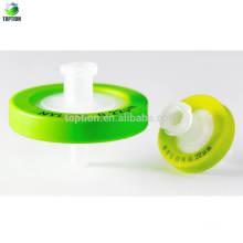 Filtros de jeringa líquida de pretratamiento de 13 mm (0.22um, filtro de nylon)