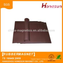 2016 hot sale Spot wholesale soft Flexible rubber fridge magnet