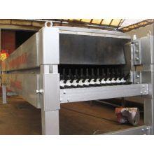 Máquina horizontal de eliminación de plumas o peeling