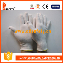 13 Gauge White Nylon Safety Gloves Wtih Competitive Price (DCH129)