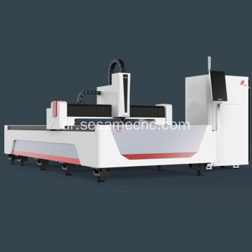 Welded Structure Lathe Metal Cutting Fiber Laser Machine