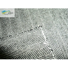 cotton Y/D brush fabric