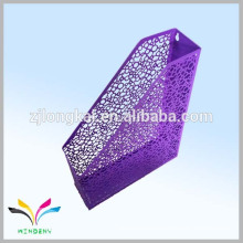 Purple colorful metal mesh colorful bubble metal document holder in china