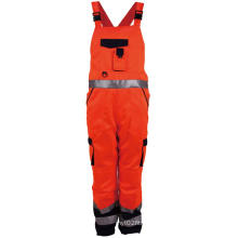 Hi Vis Workwear Reflective Working Bib Pants