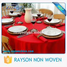 "Alibaba China Supplier Cheap Price Wholesale 132"" Round Size Luxury Wedding Table Cloth"