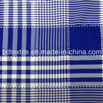 Bd Têxtil 100% Poliéster Mini Tecido jacquard mate para vestuário