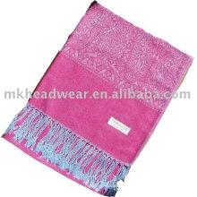 Bufanda tejida pashmina de las señoras