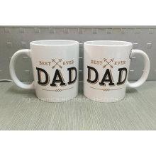 Presente do dia de pai, caneca do dia de pai, caneca do presente