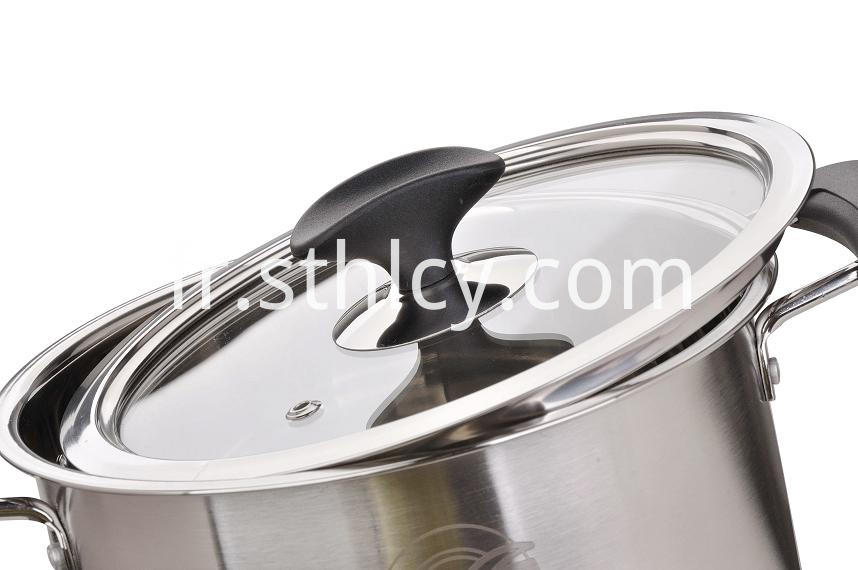 Soup Stockpot With Cover