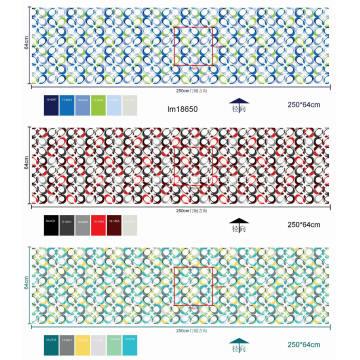 Ткань матраса в рулонах с принтом из полиэстера