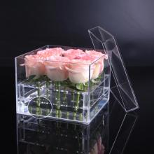 Wasserdichte konservierte Verpackungsbox Acrylblumenbox