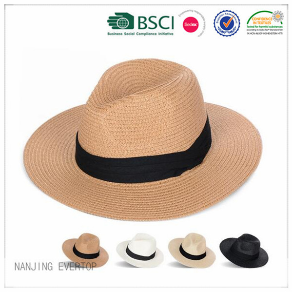 Panama Blank Straw Hat Wholesale