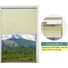 Décoration intérieure fenêtre électrique clapet en aluminium clotures en aluminium stores vénitiens