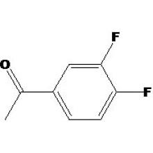 3 ', 4'-Difluoroacétophénone N ° CAS: 369-33-5