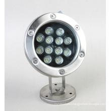 12W Multi Color LED Underwater Light