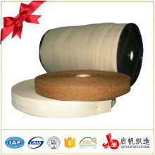 Фабрики Китая изготовленный на заказ полиэфир сплетенный webbing ленты молнии