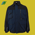 Middle-aged Man Welcome Working Jacket
