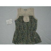 Fashion Womens Custom Clothing, Green Computer Embroidery