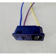 Conjunto de cabos de moldagem para caixa do medidor elétrico