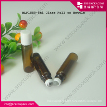 5ml Glass Brown Sample Roll On Perfum Bottle
