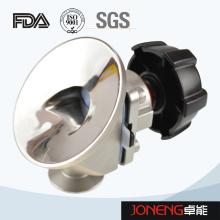 Vanne à membrane de fond de réservoir de qualité alimentaire en acier inoxydable (JN-DV3006)