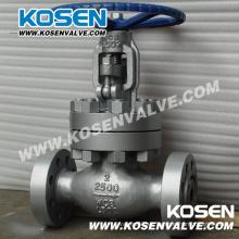 Válvulas de globo manuales de acero fundido (2500LB)